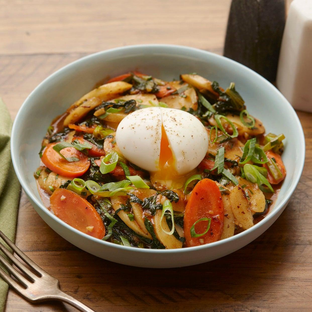 Blue Apron Korean Rice Cake Recipe