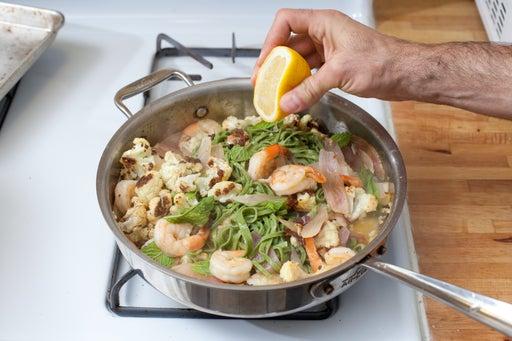 Add the pasta: