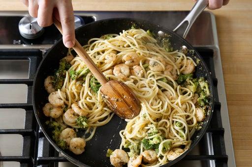 Finish the spaghetti: