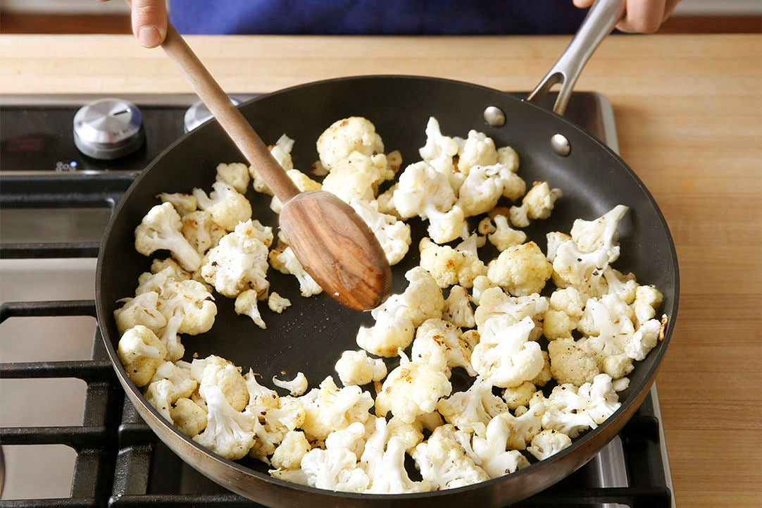 Start the cauliflower: