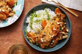 Cashew Chicken Stir-Fry with Tango Mandarins & Jasmine Rice
