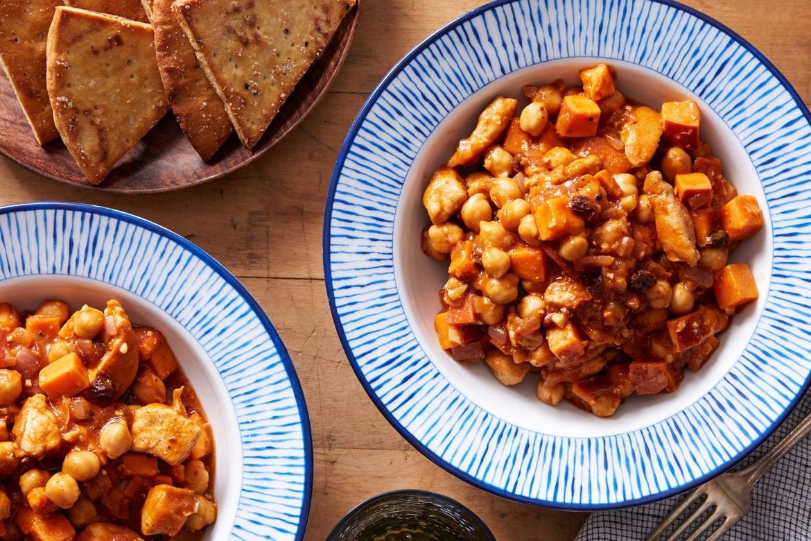Blue apron moroccan chicken