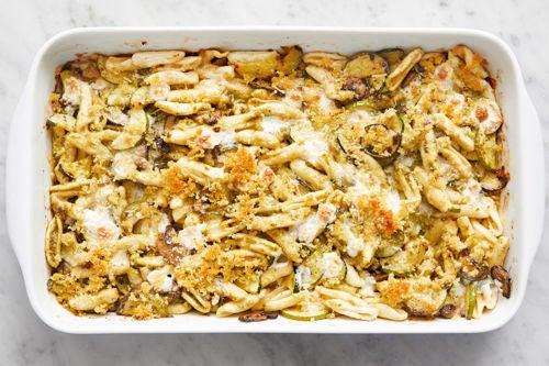 Bake the casserole & serve your dish: