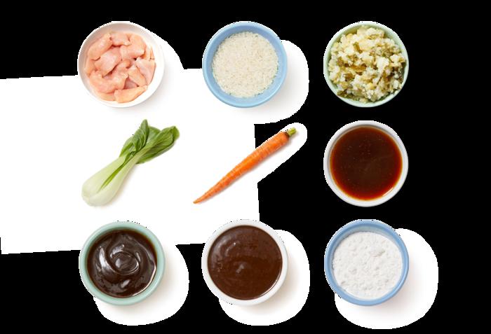 Chicken & Vegetable Stir-Fry with Spicy Ponzu Sauce