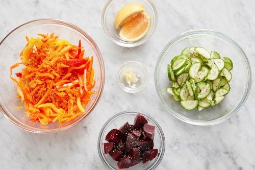 Prepare the remaining ingredients: