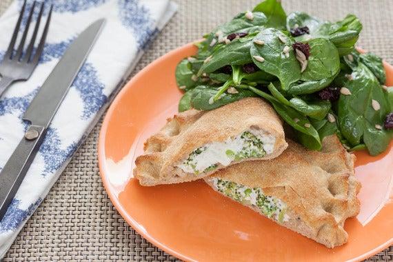 Broccoli & Ricotta Calzones
