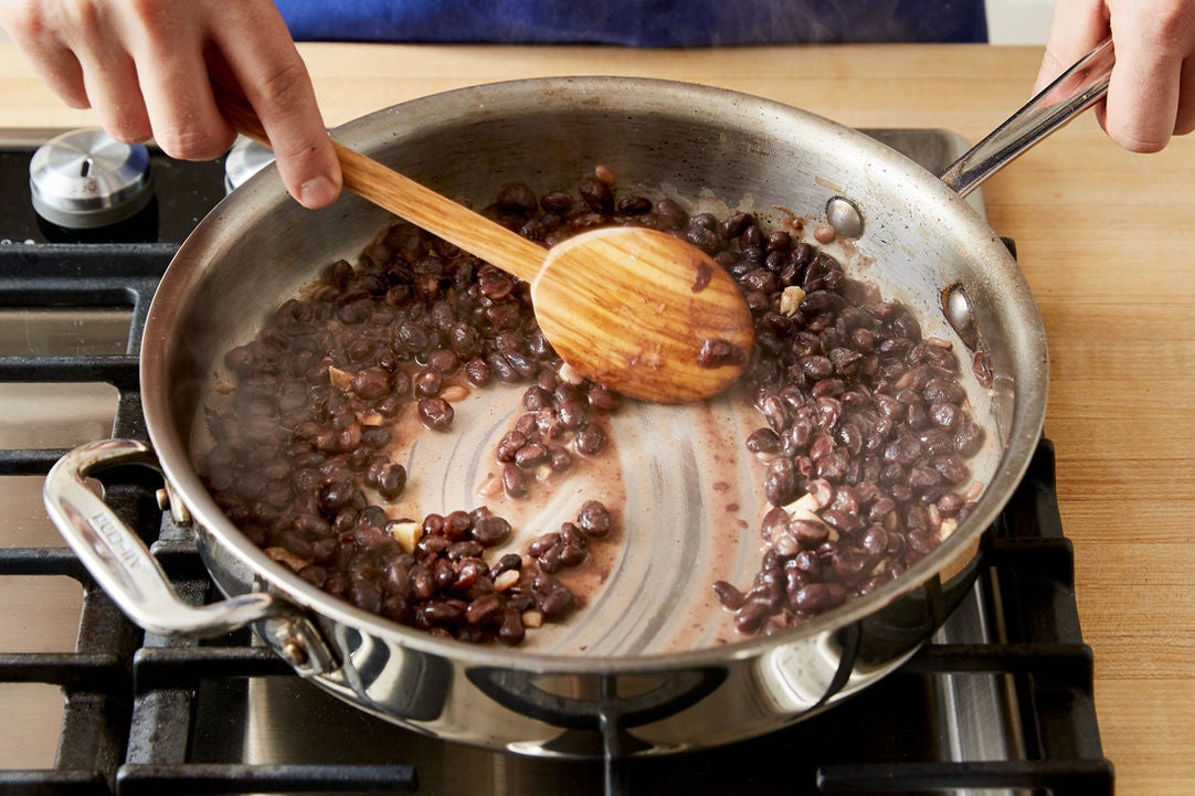Cook the beans:
