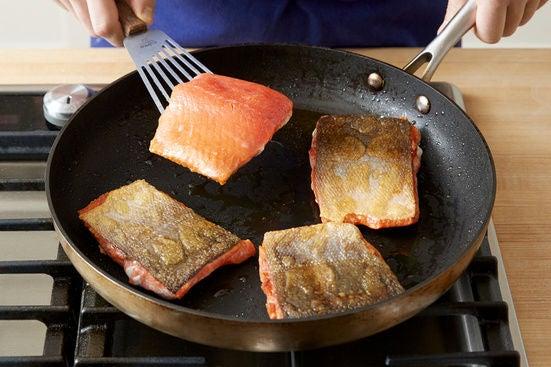 Start the salmon: