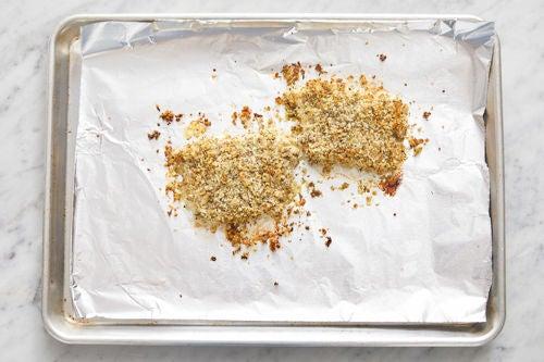 Coat & bake the fish: