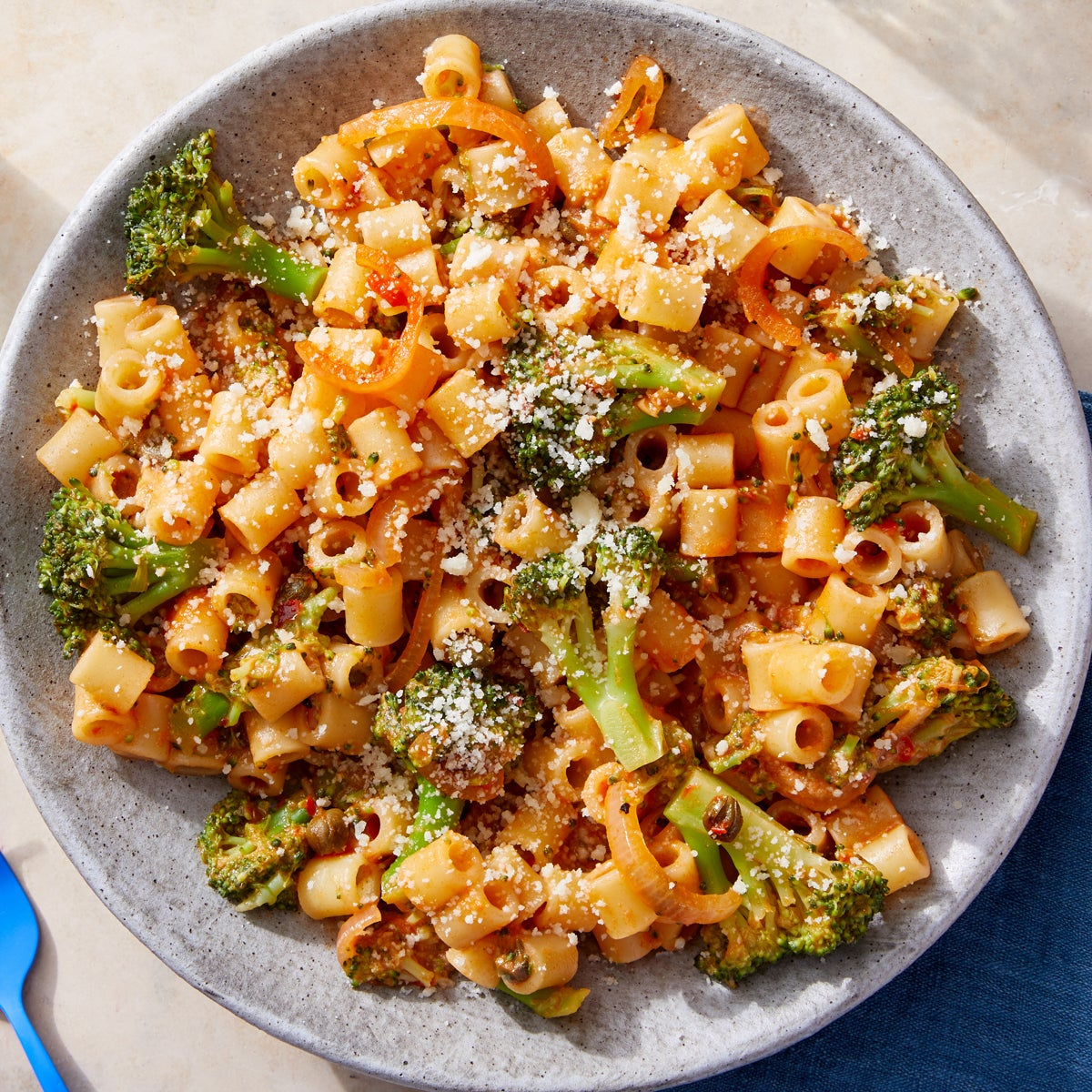 Ditali Pasta & Broccoli with Calabrian Chile-Tomato Sauce