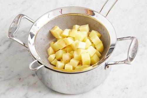 Make the potato salad & serve your dish: