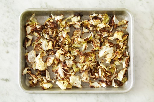 Roast the cabbage: