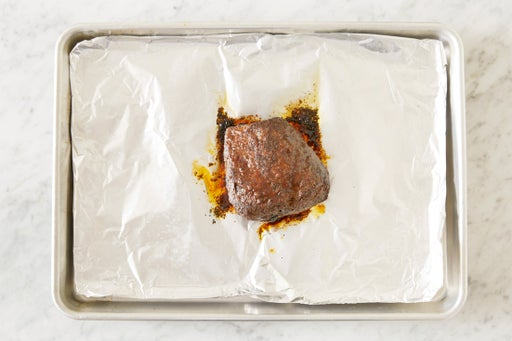 Roast the beef: