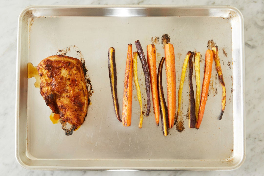 Finish the turkey & carrots:
