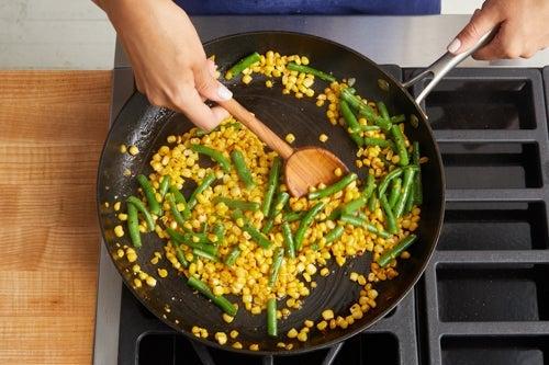 Start the salad: