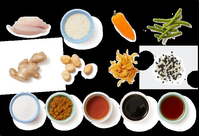 Thai-Style Glazed Tilapia with Sautéed Vegetables & Crispy Onions