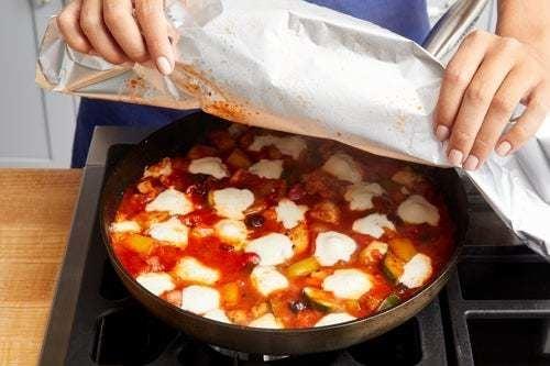 Finish the skillet & serve your dish: