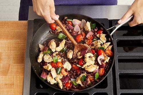 Finish & serve your dish: