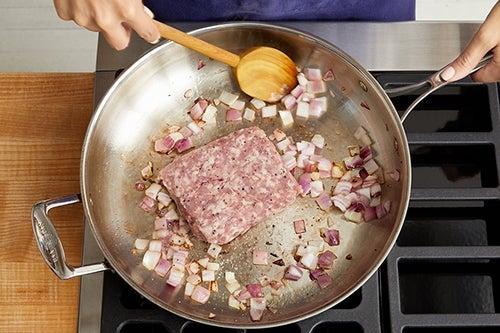 Cook the pork & make the ragù:
