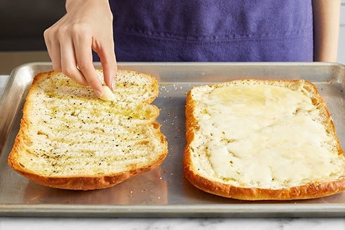 Toast the bread: