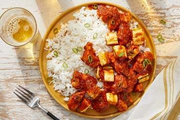 Butter Chicken & Squash with Jasmine Rice