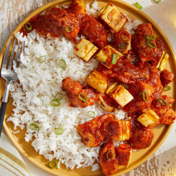 Butter Chicken & Squash with Jasmine Rice