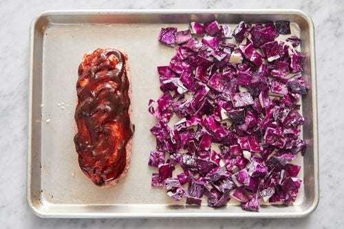 Form & bake the meatloaf: