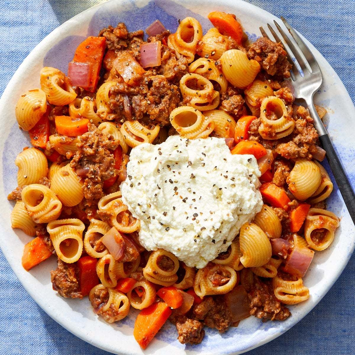 Beyond Meat™ Bolognese with Lumaca Rigata