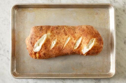 Bake the stromboli: