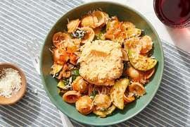 Calabrian Ricotta & Orecchiette with Spinach & Zucchini