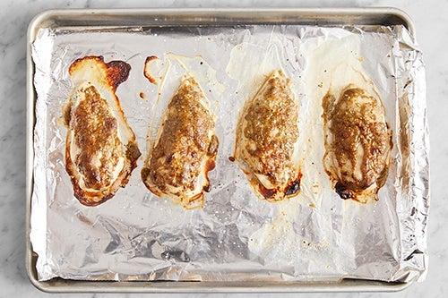 Prepare & roast the chicken: