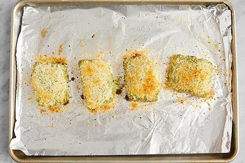 Bake the fish: