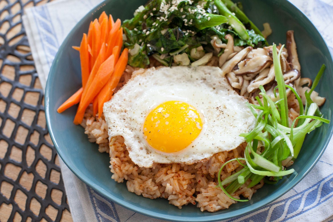 Recipe: Vegetable Bibimbap - Blue Apron