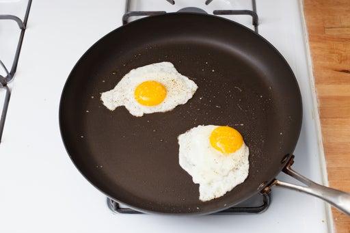 Fry the eggs & enjoy: