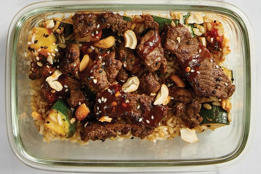 Finish & serve the Asian-Style Beef:
