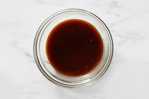 Make the Spicy Hoisin Sauce: