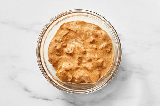 Make the Creamy Pickle Sauce: