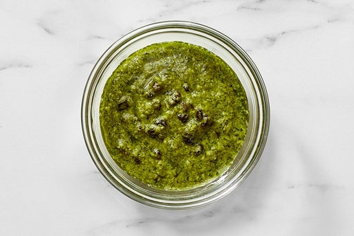 Make the Currant Pesto:
