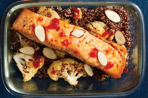 Finish & Serve the Italian-Style Salmon & Quinoa: