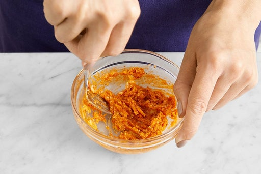 Make the spiced honey butter & serve your dish: