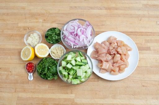 Prepare your ingredients: