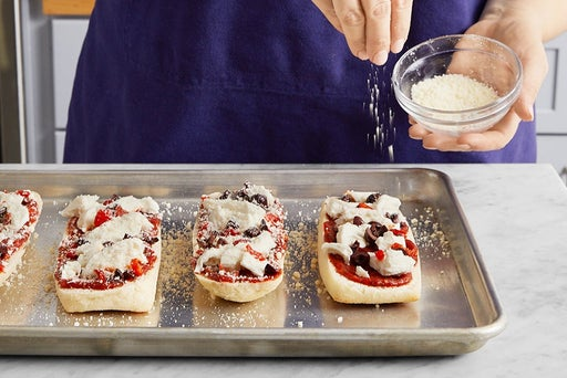Make the pizzas & serve your dish: