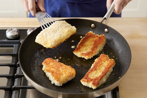 Cook the cod: