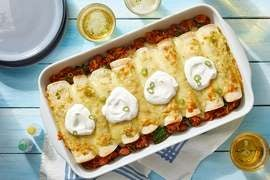 Discontinued: Beyond Beef™ Enchiladas with Spinach, Jalapeño & Poblano Pepper