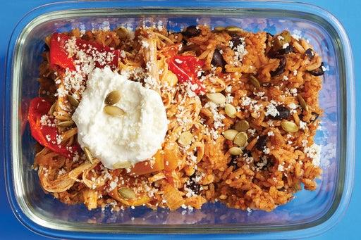 Finish & Serve the Shredded Chicken Tacos: