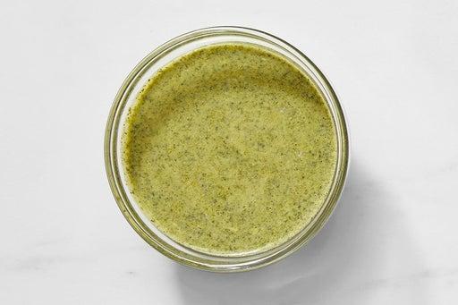 Make the Creamy Cilantro Sauce: