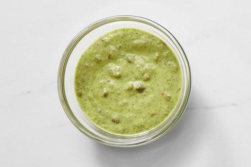 Make the Creamy Caper Pesto: