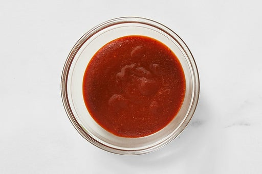 Make the Spicy BBQ Sauce: