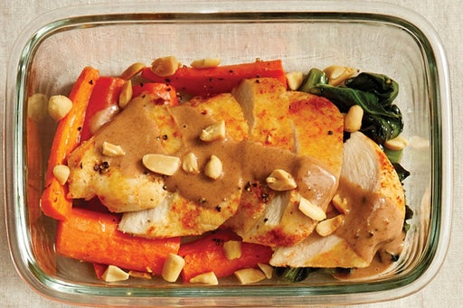 Finish & Serve the Smoky-Spiced Chicken: