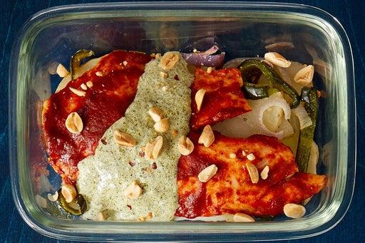 Finish & Serve the Guajillo-Roasted Tilapia: